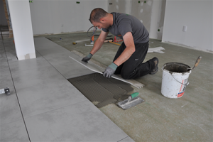 Travaux d'Installation de dallage et de Carrelage en France
